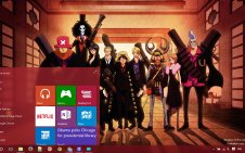 One Piece win10 theme