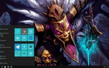 Witch Doctor (Diablo III) win10 theme