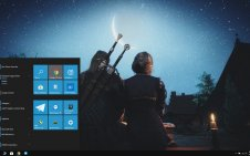 Geralt of Rivia win10 theme