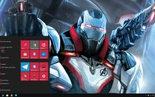 War Machine win10 theme