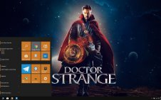 Doctor Strange win10 theme