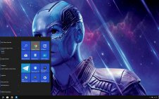 Nebula (Marvel) win10 theme