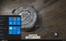 PUBG guns win10 theme