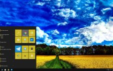 Summer Landscape win10 theme
