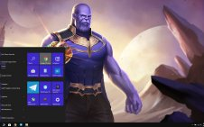 Thanos win10 theme
