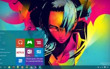Samurai Champloo win10 theme