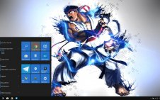 Ryu (Street Fighter) win10 theme