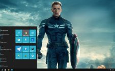 Captain America: The Winter Soldier win10 theme