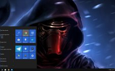 Kylo Ren win10 theme