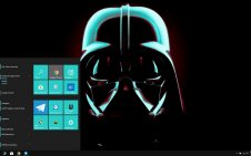 Star Wars Dark win10 theme