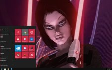 Star Wars Sith win10 theme