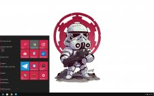 Star Wars Chibi win10 theme
