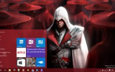 Assassin's Creed Brotherhood win10 theme