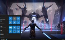 Star Wars Jedi win10 theme
