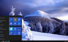 Winter Forest win10 theme