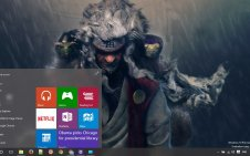Jiraiya win10 theme