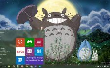 Studio Ghibli win10 theme