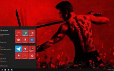 Into the Badlands win10 theme