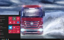 Euro Truck Simulator win10 theme