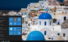 Santorini win10 theme