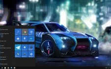 Rocket League win10 theme