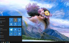 Fantasy Love win10 theme