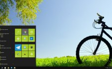 Bicycle win10 theme