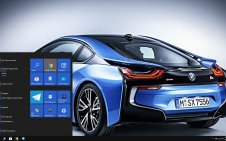 BMW i8 win10 theme