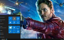 Chris Pratt win10 theme