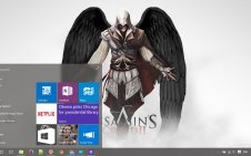 Assassin's Creed II win10 theme