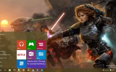 Ultimate Star Wars win10 theme