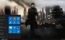 Benedict Cumberbatch win10 theme