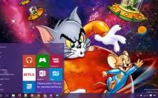 Tom & Jerry win10 theme