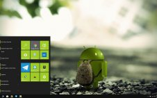 Android win10 theme