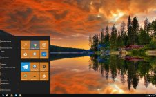 Reflection win10 theme