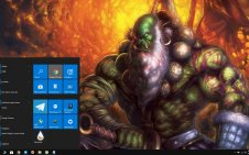 Orcs (World Of Warcraft) win10 theme