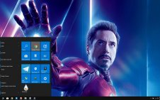 Robert Downey Jr. win10 theme