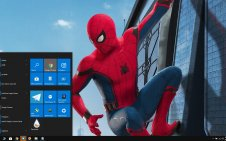 Spider-Man Homecoming win10 theme