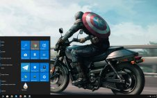 Captain America (Comics) win10 theme