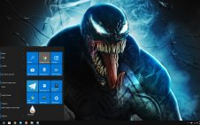 Venom (Movie) win10 theme