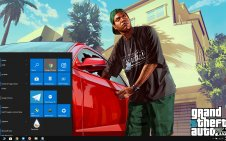 Grand Theft Auto V (GTA V) win10 theme