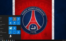 Paris Saint-Germain F.C. (PSG) win10 theme