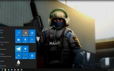 Counter-Strike: Global Offensive (CSGO) win10 theme