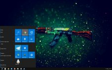 CSGO Weapons win10 theme