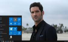 Lucifer win10 theme
