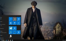 Peaky Blinders win10 theme