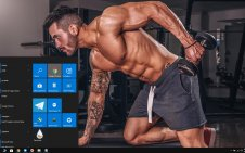 Gym win10 theme