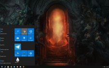 Diablo 4 win10 theme