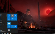 Star Wars Jedi: Fallen Order win10 theme