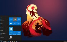 God of War win10 theme